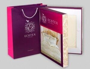Подарок Ecotex Элитный комплект постельного белья 1.5 сп. Эстетика Белинда - фото 2