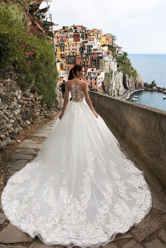 """Свадебное платье напрокат ALIZA свадебное платье """"Delighttye"""" - фото 3"""