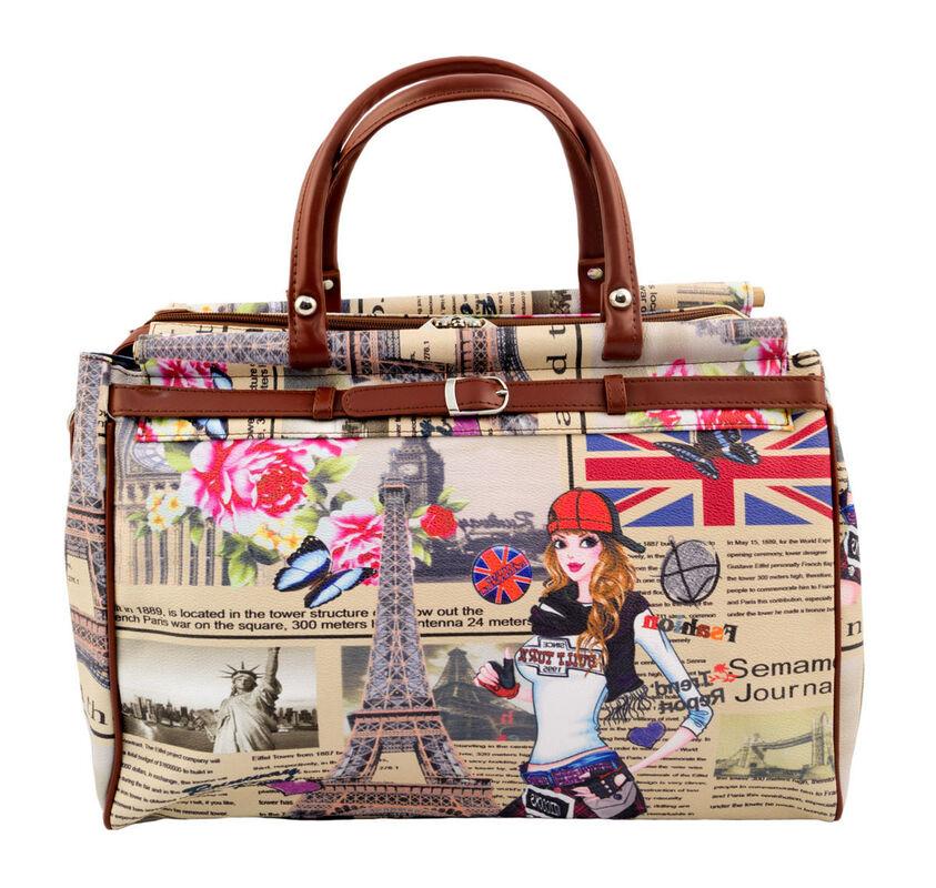 Магазин сумок Borgo Antico Женская дорожная сумка 135 - фото 3