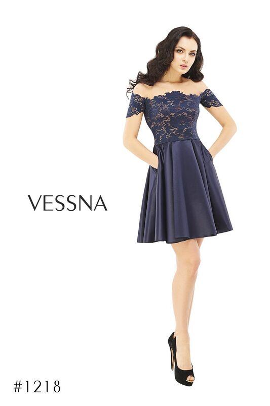 Вечернее платье Vessna Коктейльное платье арт.1218 из коллекции VESSNA Party - фото 1