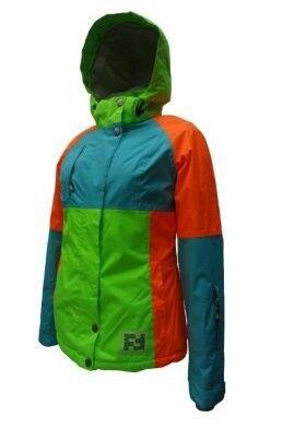 Спортивная одежда Free Flight Женская горнолыжная мембранная куртка, модель №1328 - фото 3