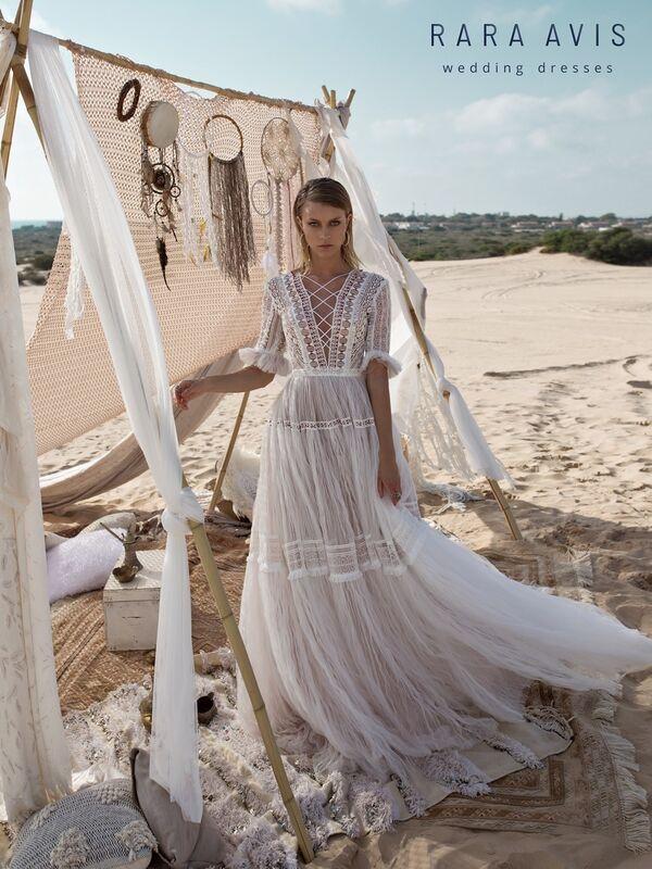 Свадебное платье напрокат Rara Avis Свадебное платье Wild Soul Marit - фото 3