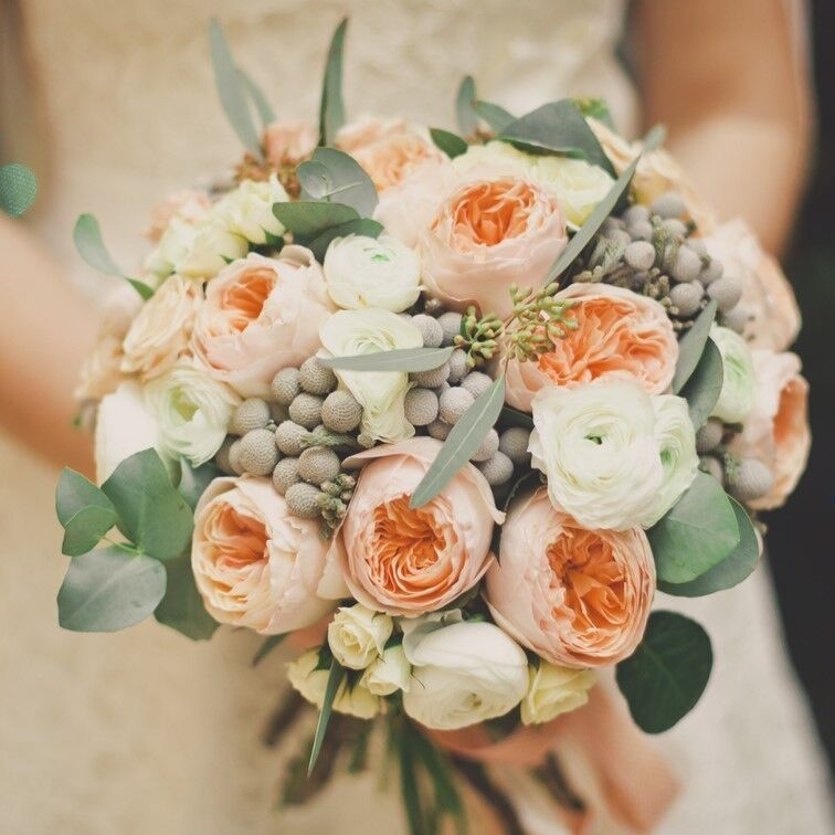 Магазин цветов Кошык кветак Букет свадебный №6 - фото 1