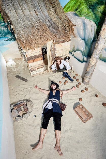 Квест GameRoom Детский праздник «Пираты Карибского моря» на 4-8 чел. - фото 1