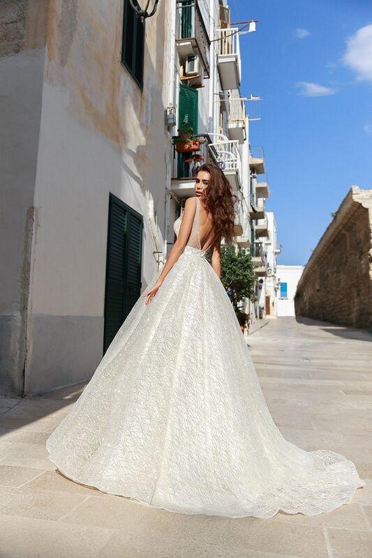 """Свадебное платье напрокат ALIZA свадебное платье """"Justina"""" - фото 2"""