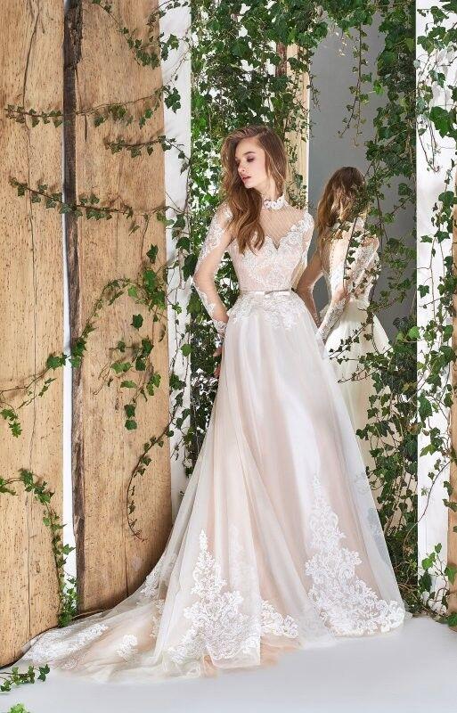Свадебный салон Papilio Свадебное платье «Wonderland» #1827-L Стриата - фото 1