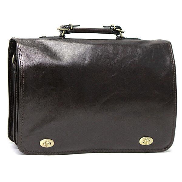 Магазин сумок Francesco Molinary Сумка мужская коричневая 513-31017-060 - фото 1