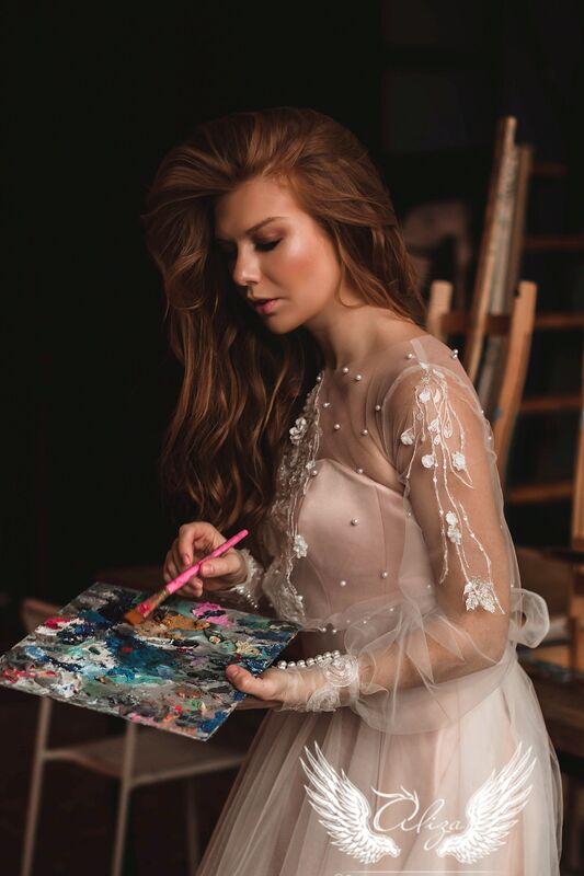 """Свадебное платье напрокат ALIZA свадебное платье  """"Saffi"""" - фото 4"""