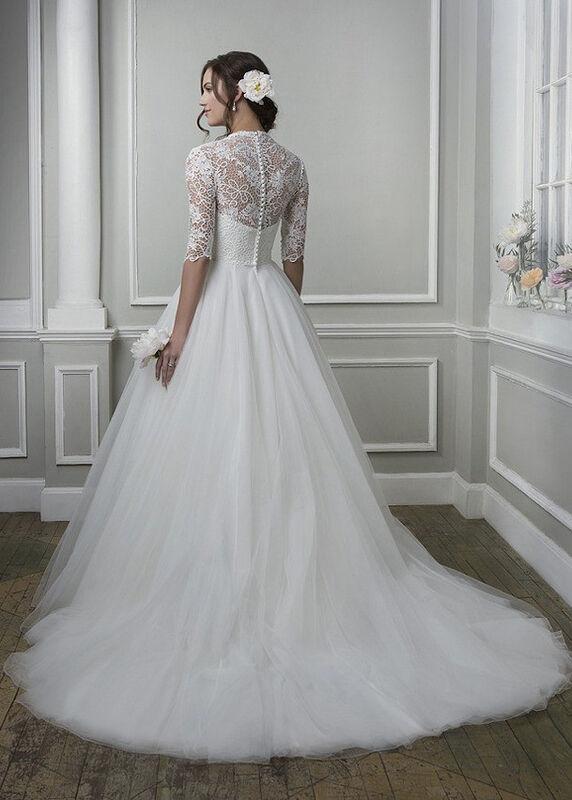 Свадебное платье напрокат Lillian West Платье свадебное «Amanda» - фото 2