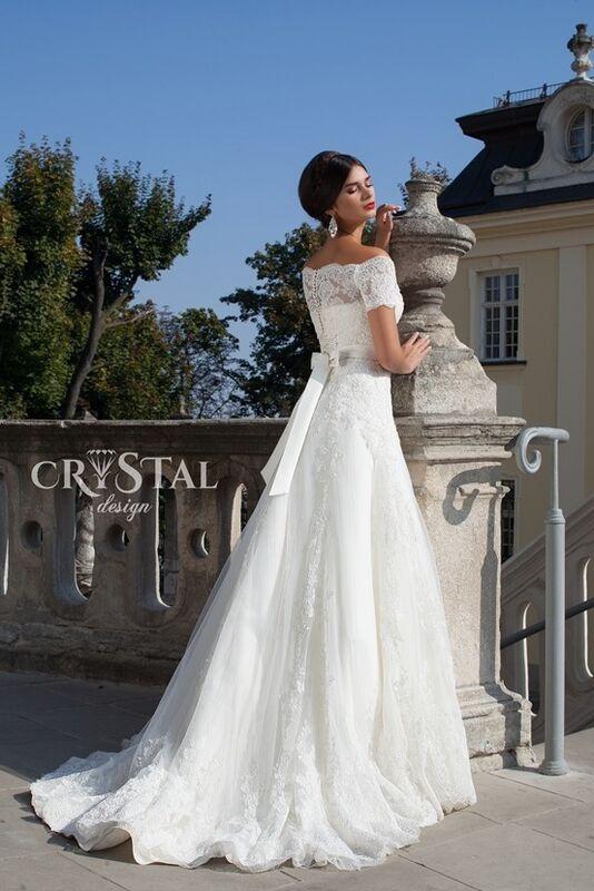 Свадебное платье напрокат Crystal Свадебное платье  Stella - фото 2