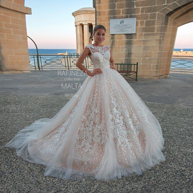 Свадебное платье напрокат Rafineza Платье свадебное Whitney напрокат - фото 1