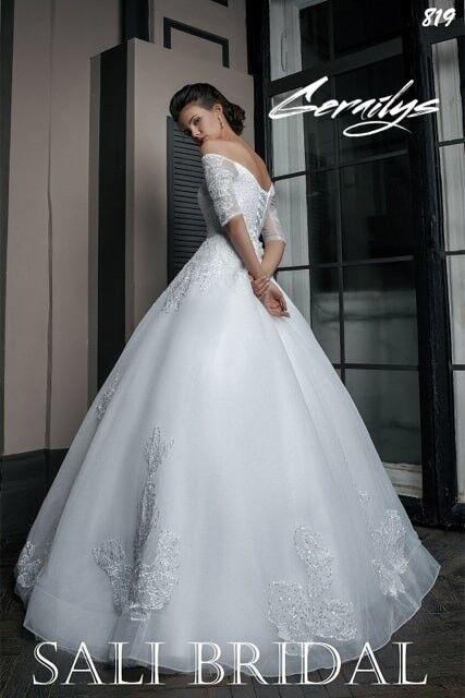 Свадебный салон Sali Bridal Свадебное платье 819 - фото 3