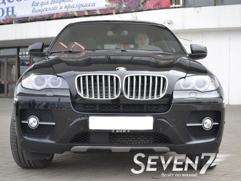 Аренда авто BMW X6 2012 г.в. - фото 2