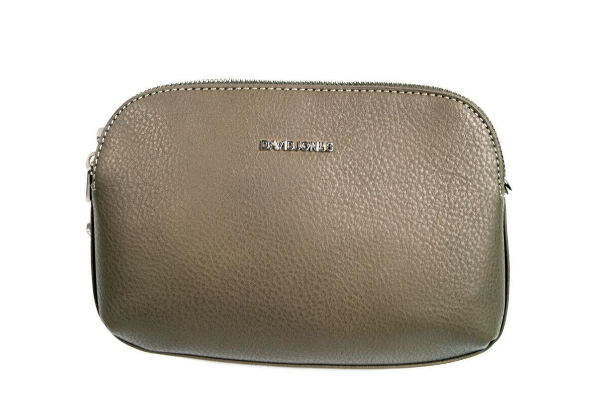 Магазин сумок David Jones Сумка женская серая 5602-2 - фото 1