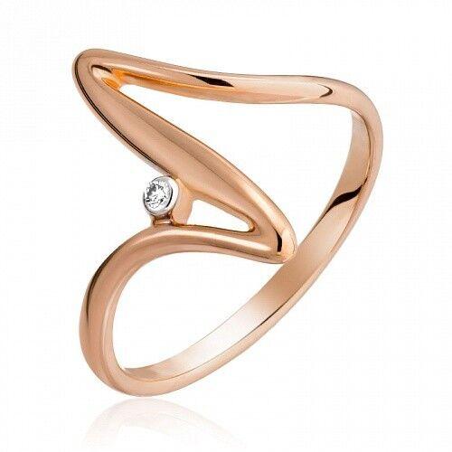 Ювелирный салон Jeweller Karat Кольцо золотое с бриллиантами арт. 1210321 - фото 1
