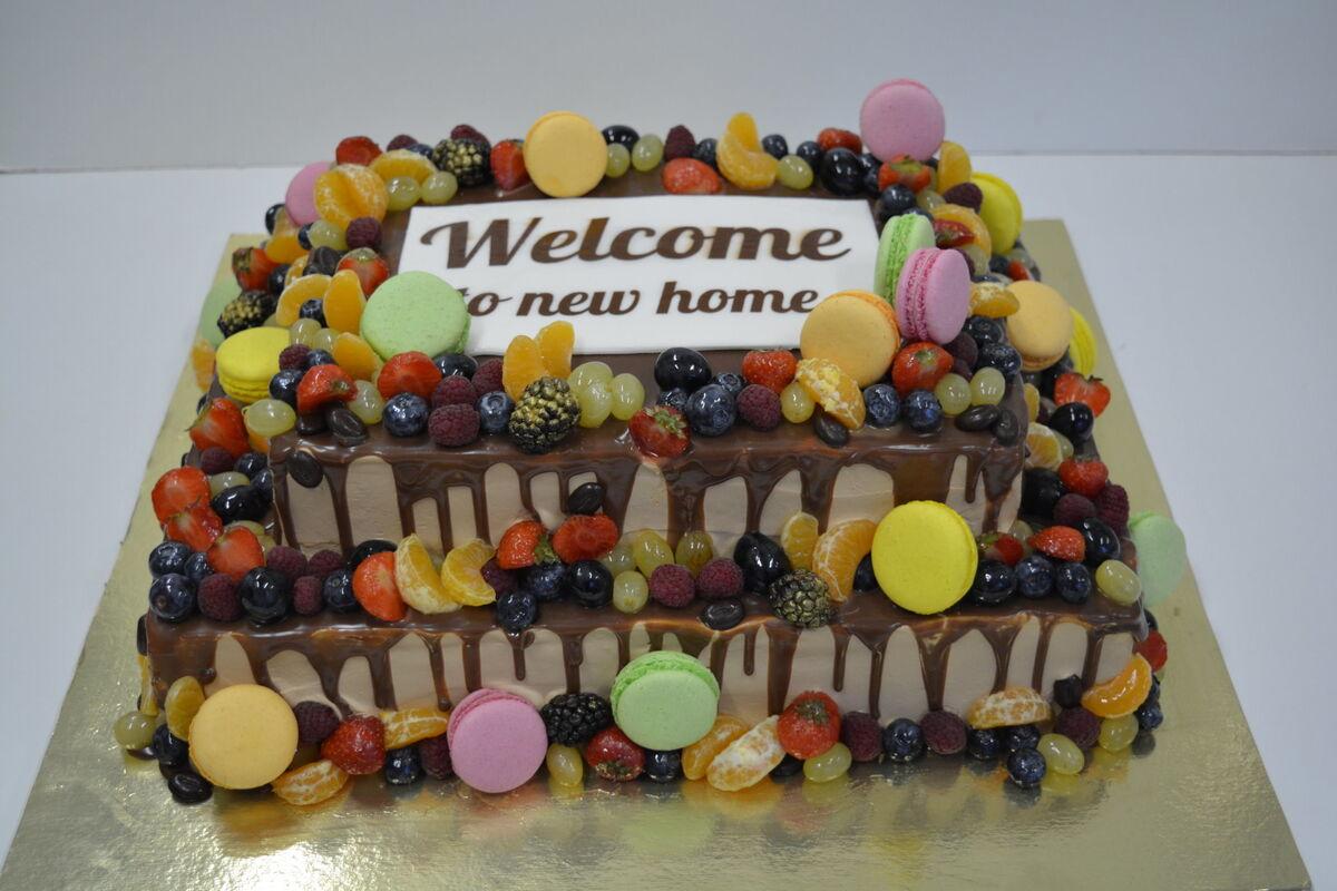 Торт DOLCE Корпоративный торт «Новый Дом» - фото 1