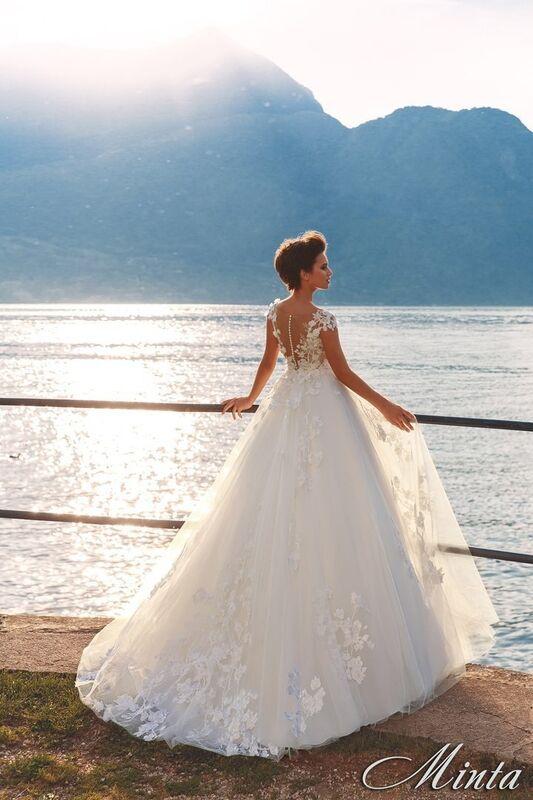 Свадебный салон Bonjour Galerie Свадебное платье Minta из коллекции Royal Luxury - фото 2