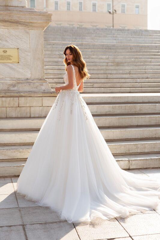 """Свадебное платье напрокат ALIZA свадебное платье """"Esmeraldyny"""" - фото 3"""