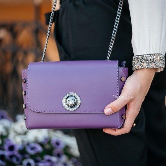 Магазин сумок Vezze Кожаная женская сумка C00517 - фото 2