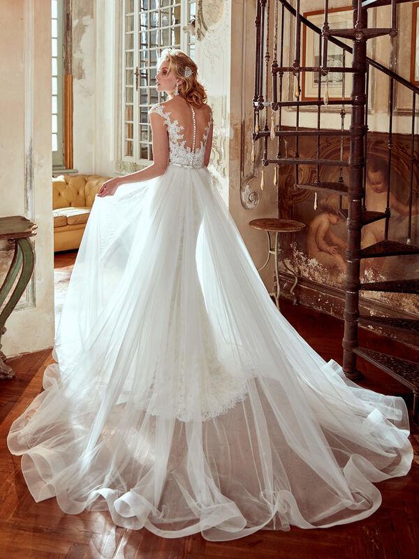 Свадебное платье напрокат Nicole Платье свадебное Corsica - фото 3
