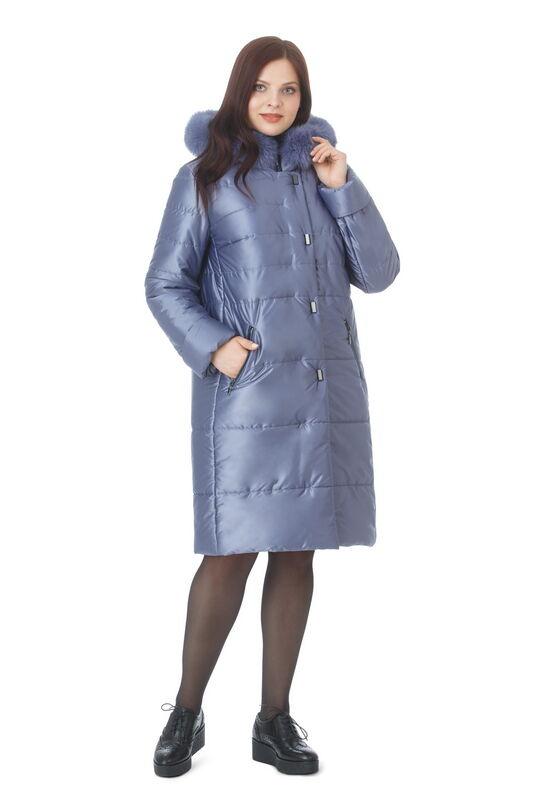 Верхняя одежда женская Elema Пальто женское плащевое утепленное Т-7299 - фото 1