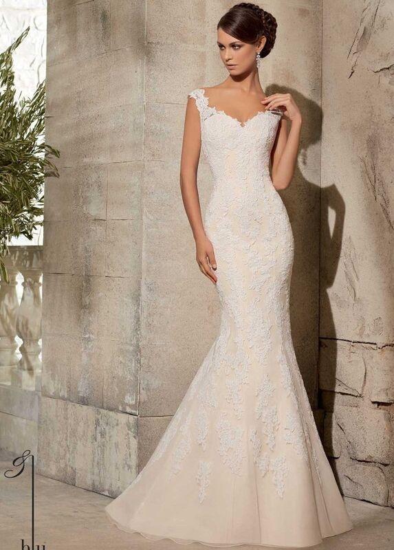 Свадебное платье напрокат Mori Lee Платье свадебное 5316 - фото 1