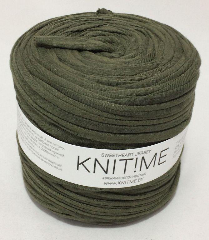 Товар для рукоделия Knit!Me Ленточная пряжа Sweetheart Jersey - Виноградный лист (SJ076) - фото 1