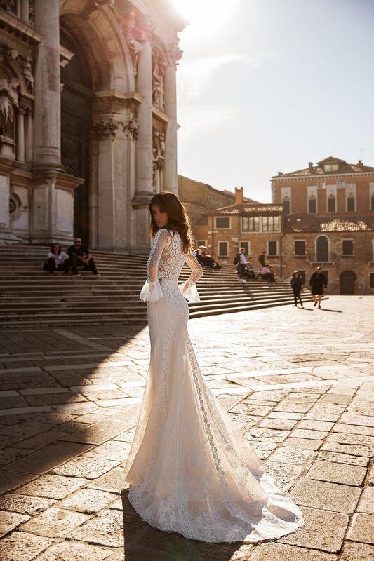 """Свадебное платье напрокат ALIZA свадебное платье """"Eletry"""" - фото 4"""