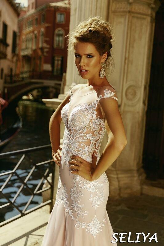 Свадебный салон Bonjour Galerie Свадебное платье Seliya из коллекции La Douceur - фото 4