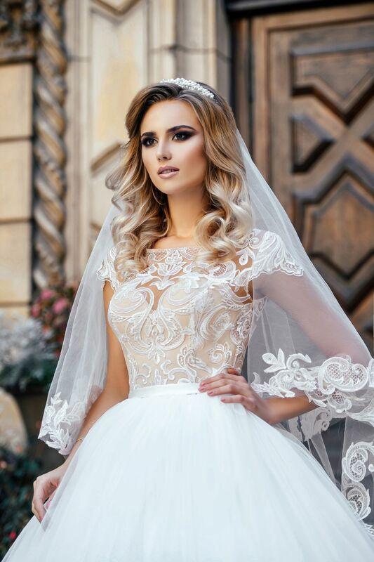 Свадебное платье напрокат Nicole Платье свадебное Odri - фото 3