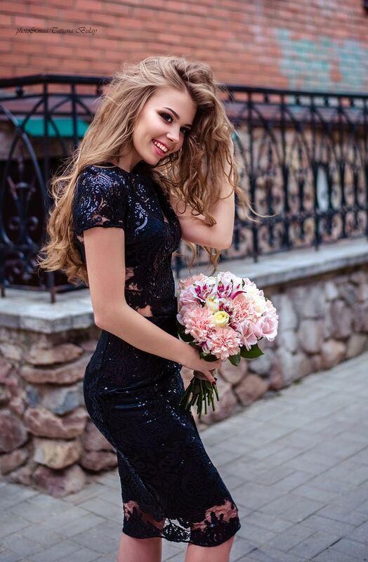 Вечернее платье Shkafpodrugi Топ и юбка из кружева с микро-пайетками - фото 7