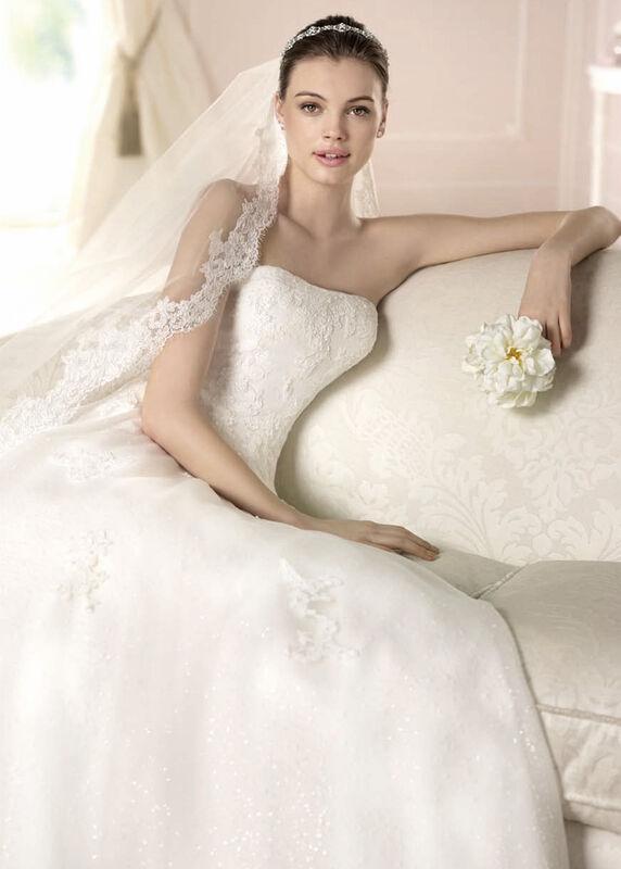 Свадебное платье напрокат White One (Pronovias) Платье свадебное «Darcy» - фото 3