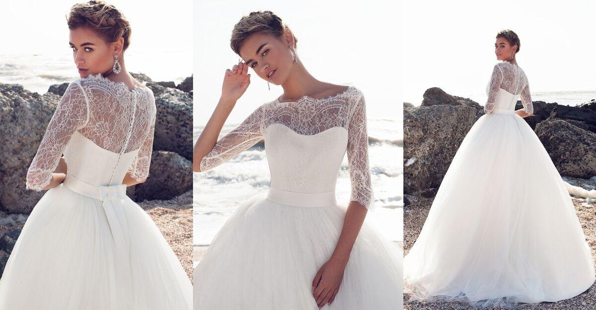 Свадебное платье напрокат Ariamo Bridal Платье свадебное Belissa - фото 2