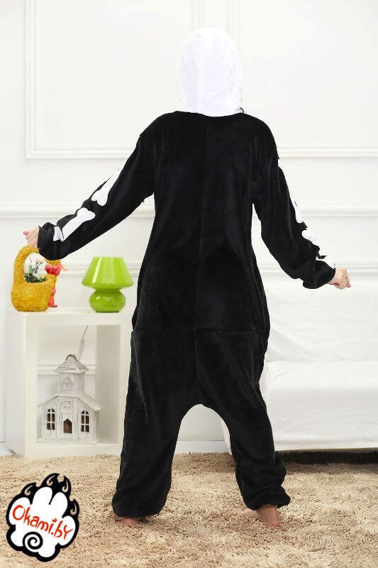 Подарок Taicang Soft Пижама кигуруми «Скелет» - фото 4