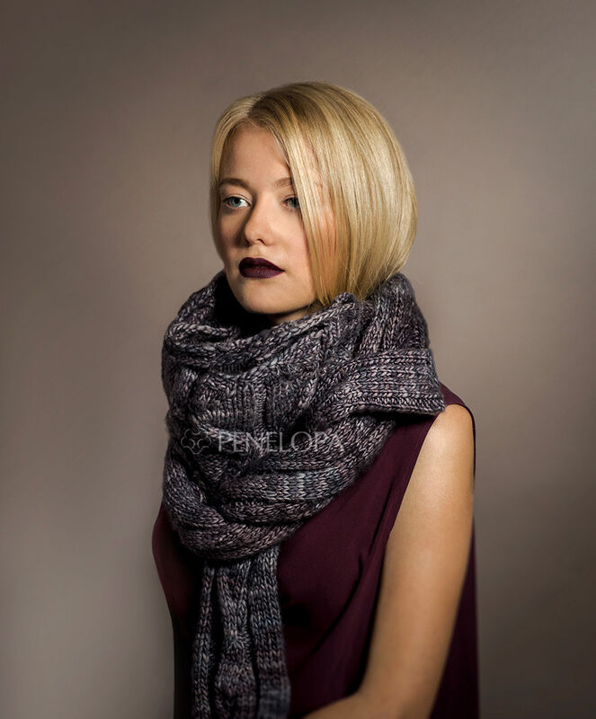 Шарф и платок PENELOPA Снуд-шарф M14 - фото 1