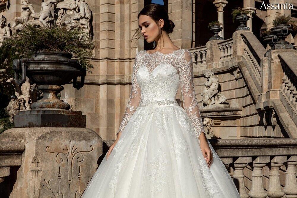 Свадебное платье напрокат Bonjour Платье свадебное «Assanta» из коллекции LA POESIE 2017 - фото 2