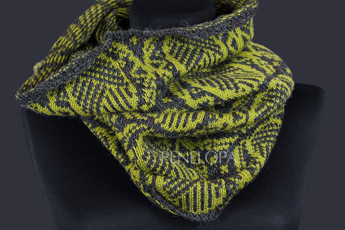 Шарф и платок PENELOPA Снуд «Орнамент» M87 - фото 3