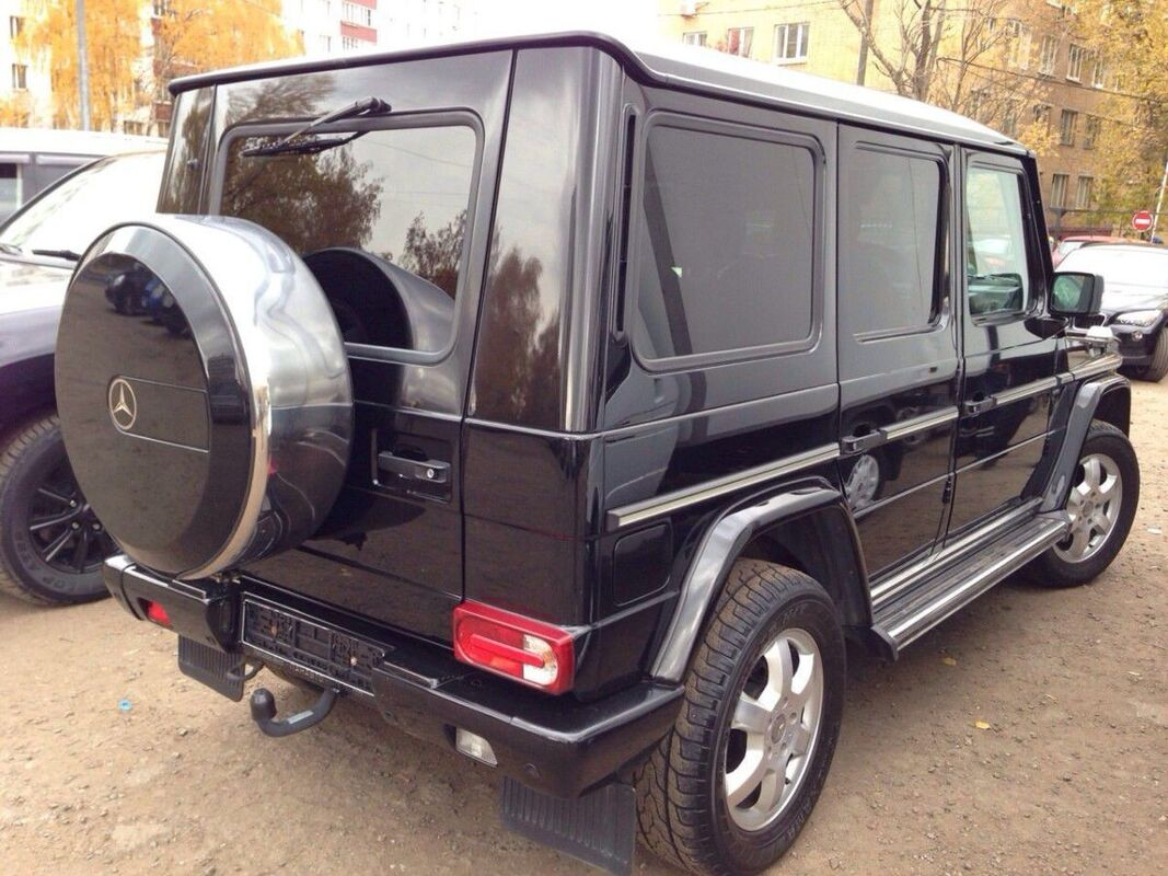 Аренда авто Mercedes-Benz Гелендваген G-класс черный - фото 2