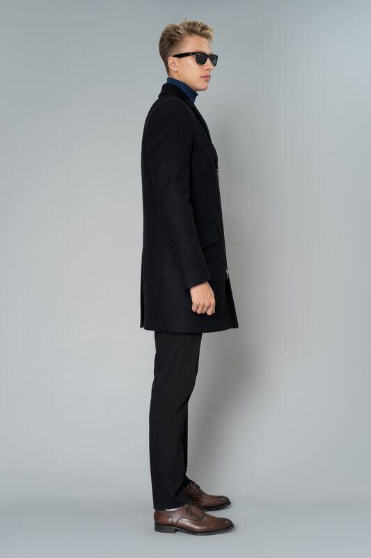 Верхняя одежда мужская Etelier Пальто мужское демисезонное 1М-9130-1 - фото 7