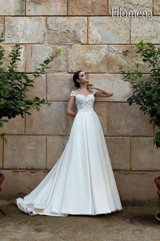 Свадебное платье напрокат Bonjour Платье свадебное «Filomena» из коллекции LA POESIE 2017 - фото 3