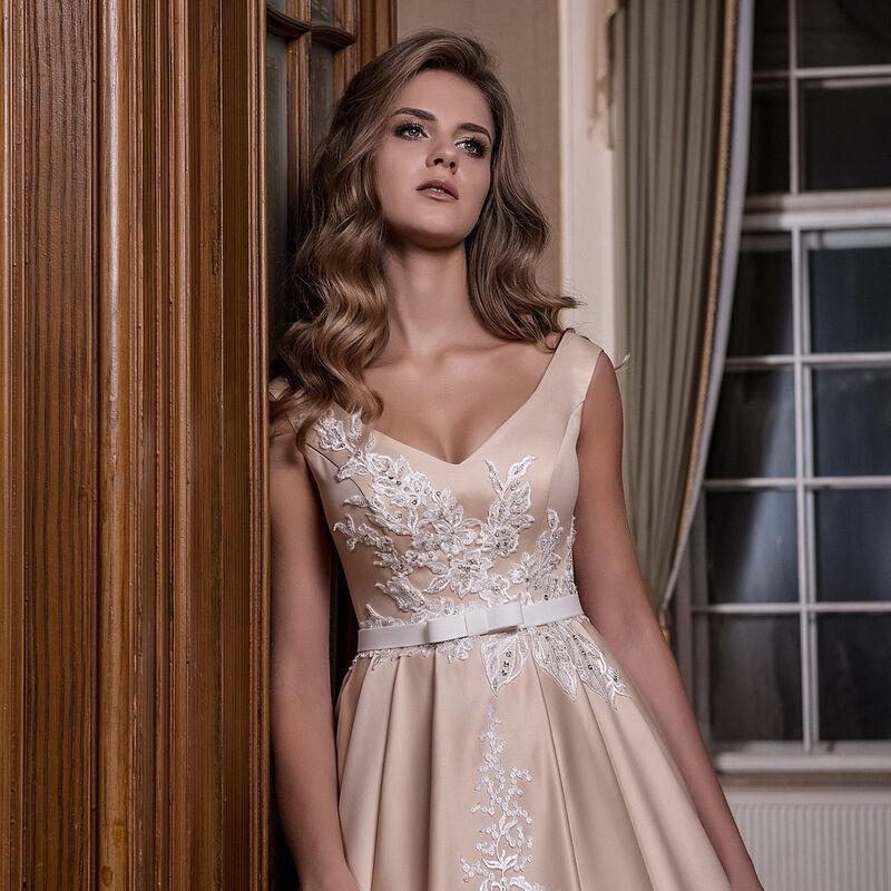 Свадебное платье напрокат Lavender Свадебное платье Afina - фото 2