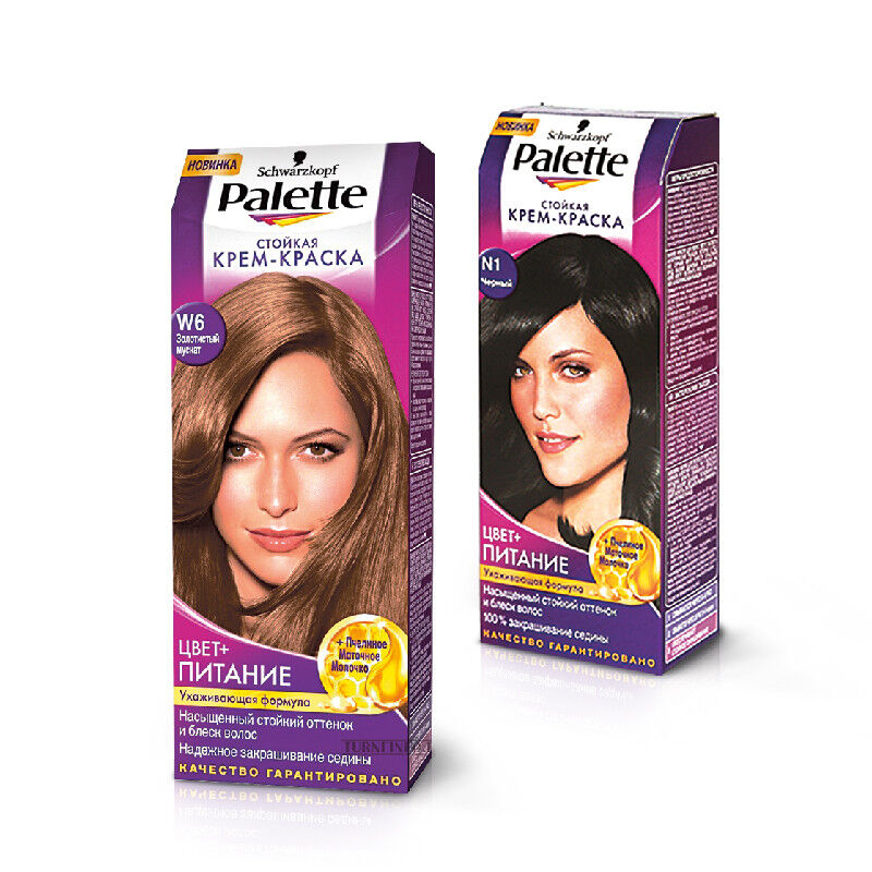 Уход за волосами Schwarzkopf Крем-краска для волос Palette - фото 1