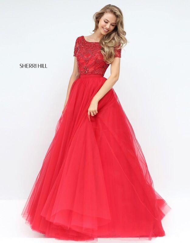 Свадебное платье напрокат Sherri Hill Платье свадебное 50710 - фото 7