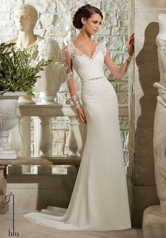 Свадебный салон Mori Lee Свадебное платье Blu 5306 - фото 1