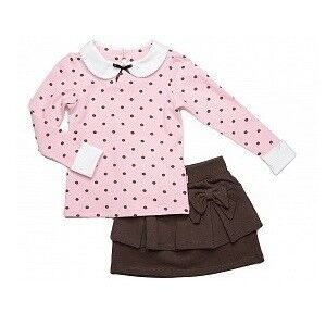 Платье детское Mini Maxi Комплект для девочки UD0460 - фото 1