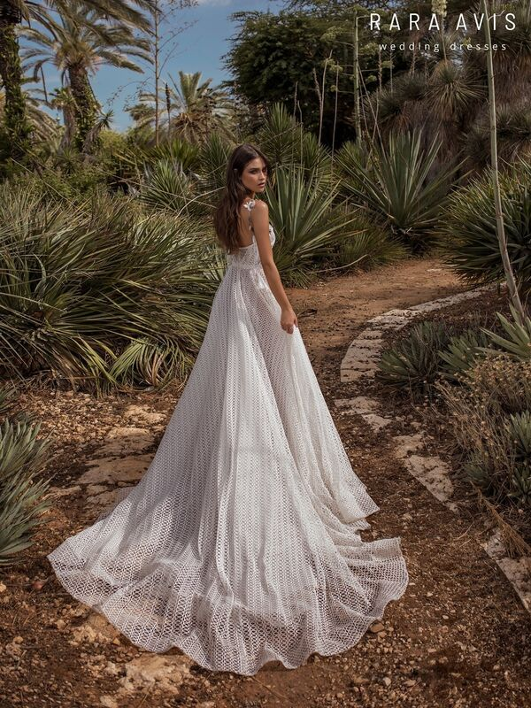 Свадебный салон Rara Avis Платье свадебное Wild Soul Neri - фото 4