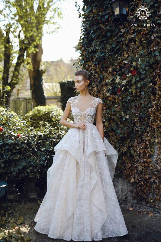 Свадебное платье напрокат Ange Etoiles Платье свадебное AEriality Collection  Janel - фото 1