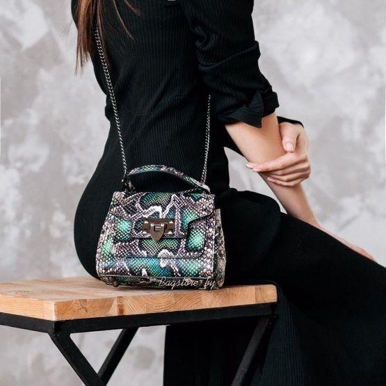 Магазин сумок Vezze Кожаная женская сумка C00470 - фото 2