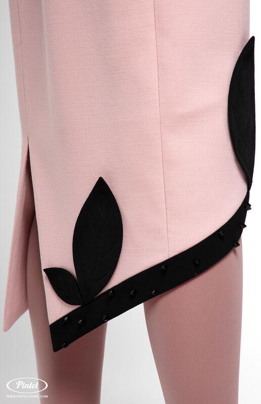 Платье женское Pintel™ Приталенное платье из натуральной шерсти Akeelia - фото 5