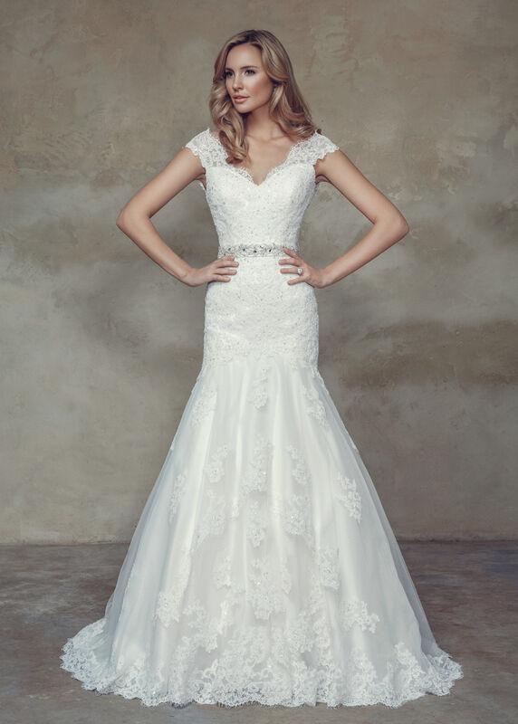 Свадебное платье напрокат Mia Solano Платье свадебное «Becca» - фото 3